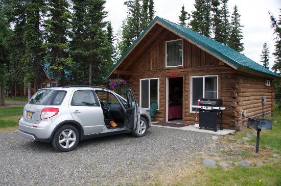 Alaska Redfish Lodge: Outside Cabin