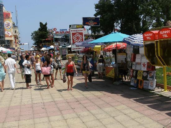 Slantchev Briag (Sunny Beach), Bulgarie : The best part of Sunny Beach