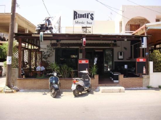 Elounda, Yunani: Rudi's Music Bar