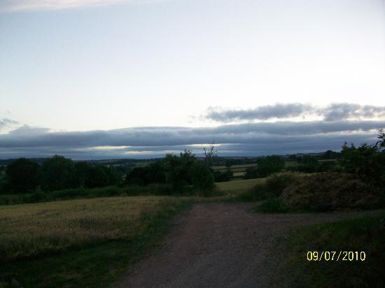Windy Arbour Farm: View from Gothic room