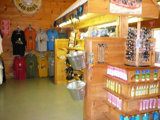 Townsend, TN: Interior of River Rat Main Outpost 2010