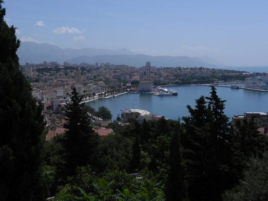 Palace Suites Split: Panorama from Marjan Cafe
