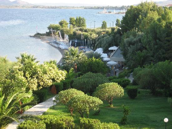 Palairos, Greece: Vounaki Grounds and Beach