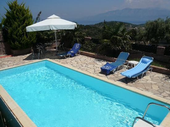 Vathy, Greece: meganissi villa