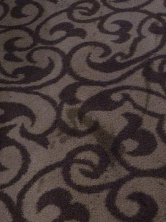 Park Plaza Trier: More stains on the carpet. And there were many more...
