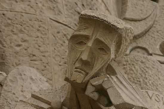 Barcelona, Spain: Fine Sculpture La Sagrada Familia