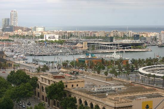 Barcelona, Spanien: Marina from cable car