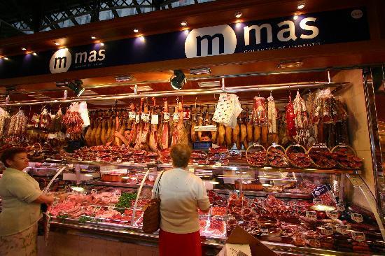Βαρκελώνη, Ισπανία: Mercat de le Boqueria