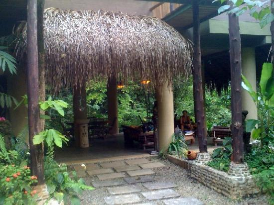 Waterfall Villas: This is the main meeting place where meals are served.