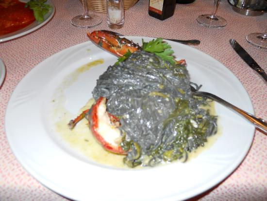 Don Pedro: Black Ink Pasta with Lobster...It was delcious...