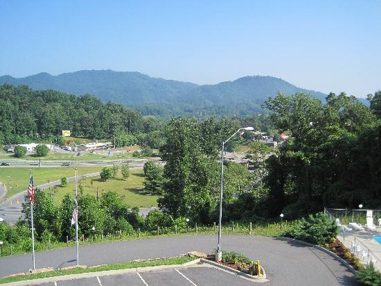 Super 6 - Waynesville: View from our balcony
