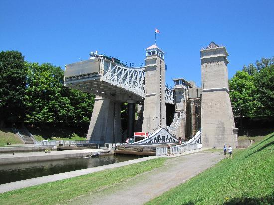 Peterborough, Canadá: Hydraulic Lift Lock