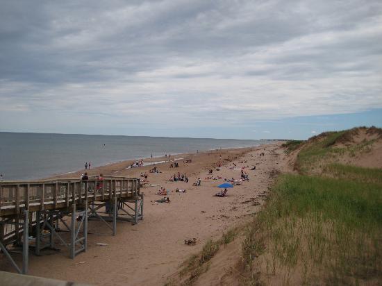 Prince Edward Island National Park Pei Brackley Beach On A Saay Afternoon