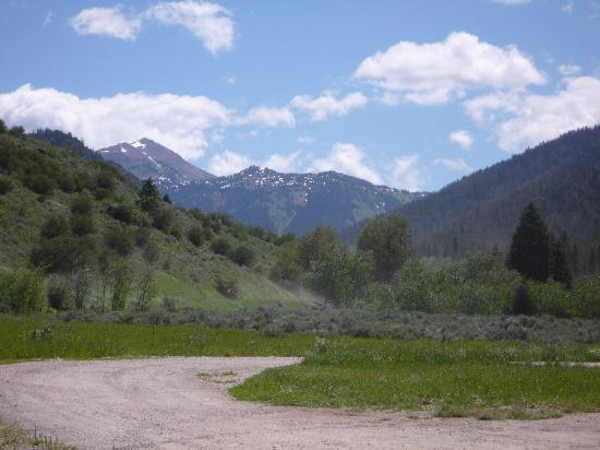 The Mountains Surrounding Moose Creek Ranch