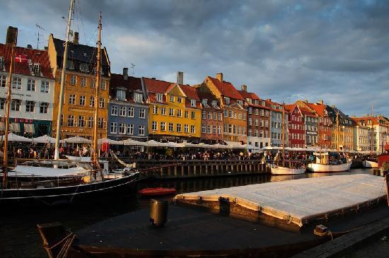 København, Danmark: nyhavn
