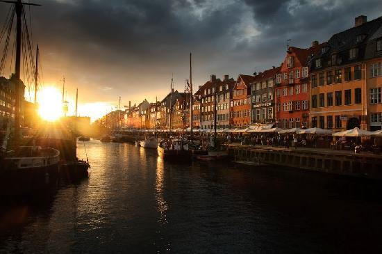 Copenhague, Danemark : nyhavn