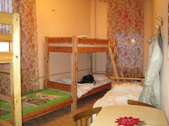 Elizabeth's Youth Hostel: 6 people dom