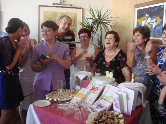 Porto Vecchio: happy for mum