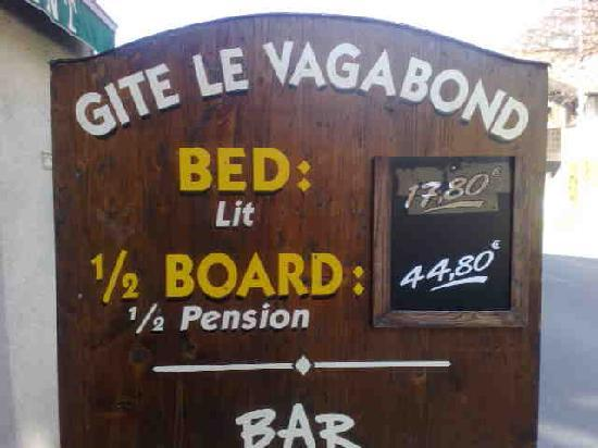 Gite le Vagabond: A good price for the location :-)