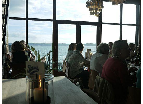Foye Old Exchange: The view to accompany your dinner.