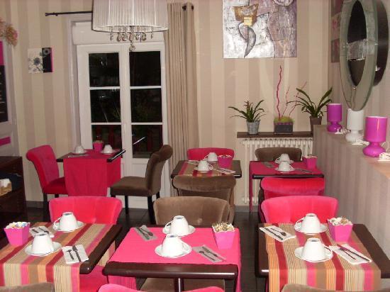 Villa Cap d'Ail Hotel : Villa Cap d'Ail - Salle petits déjeuner