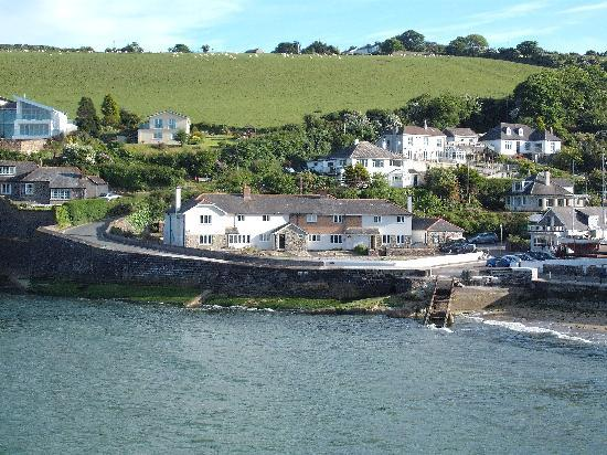 Mevagissey, UK: View from Tremarne Hotel