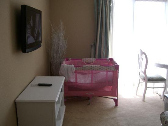 Moss Suites: Salon
