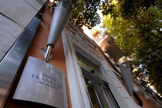 Hotel Franklin Feel The Sound: WELCOME TO FRANKLIN - Franklin Feel The Sound Hotel, Rome, Italy