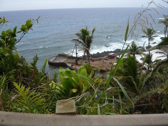 Pitcairn Island: The Landing - der Hafen auf Pitcairn