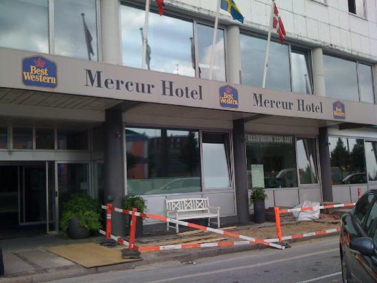 ‪‪ProfilHotels Mercur Hotel‬: front of the hotel‬