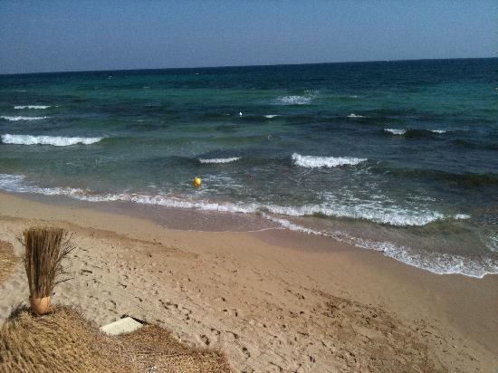 Borgo Egnazia : il lido di sabbia convenzionato