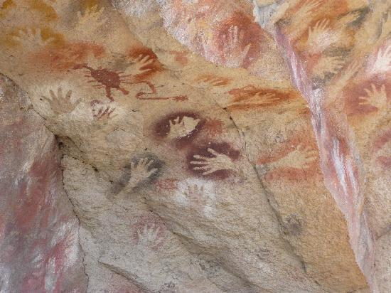 Provincia de Santa Cruz, Argentina: 手形の壁画