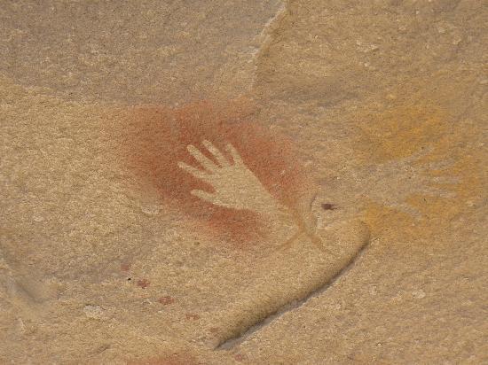 Province of Santa Cruz, Αργεντινή: 珍しい右手