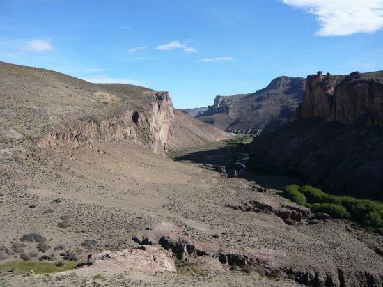 Province of Santa Cruz, Argentina: ピントゥラス渓谷