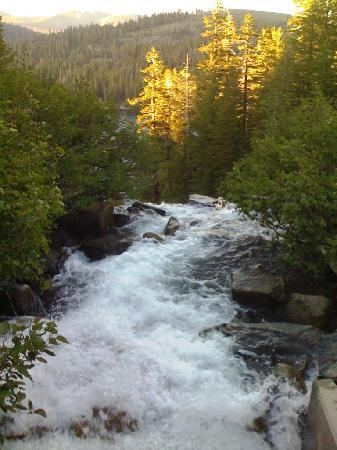 Mammoth Lakes, Californië: Wasserfall