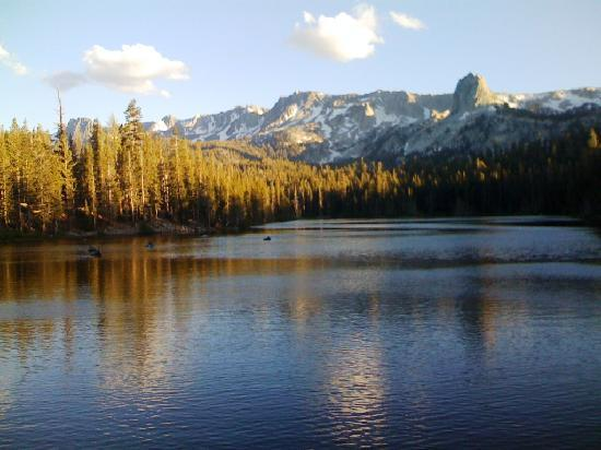 Mammoth Lakes, Californien: See