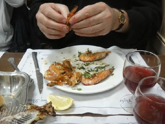 Restaurante Romesco : grilled prawns
