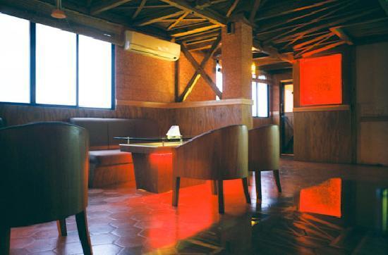 Arcadia Hotel: Lounge Upstairs
