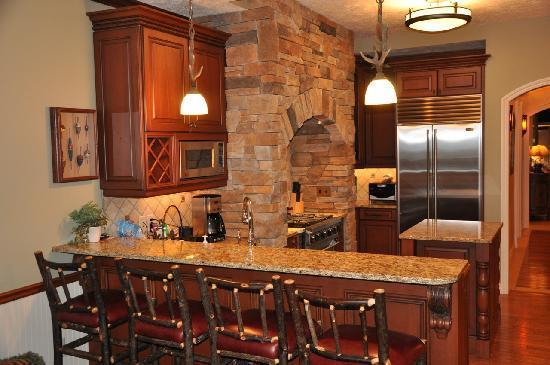 LeBear Residential Resort: full kitchens with Sub-Zero & Vikings