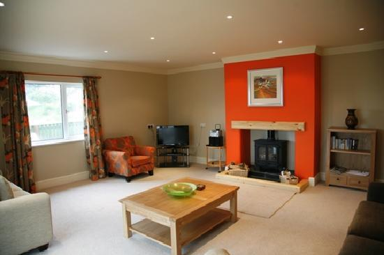Jordanston Holiday Cottages: Pleasant Valley lounge
