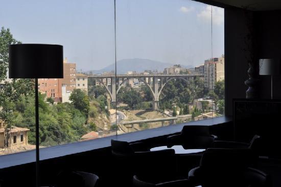 Sercotel Ciutat D´Alcoi Hotel: Vistas cafeteria