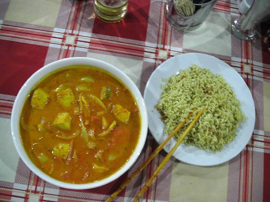 Isola di Phu Quoc, Vietnam: Thunfisch Curry