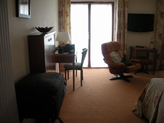 Priory Hotel: Room view