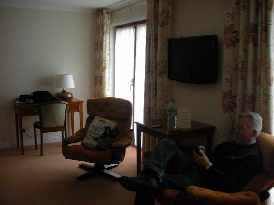 Priory Hotel: Room view 3