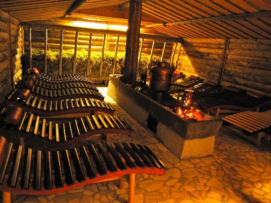 Wellnesshotel Mitterwirt: Toller Sauna-Ruheraum