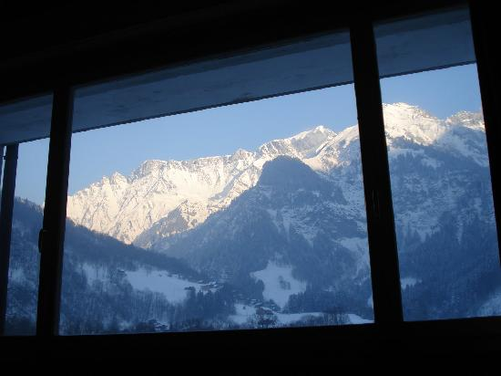 Hotel Elmer: View from the bedroom