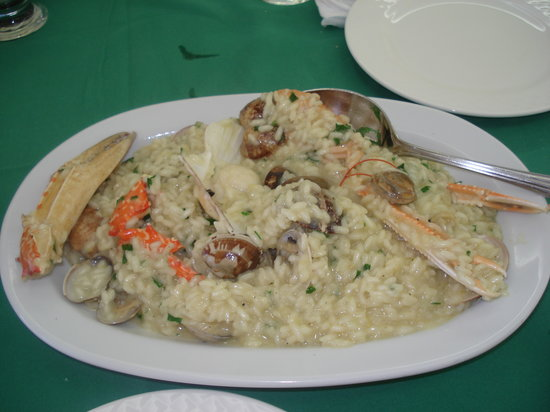 Ippokambos: Seafood risotto