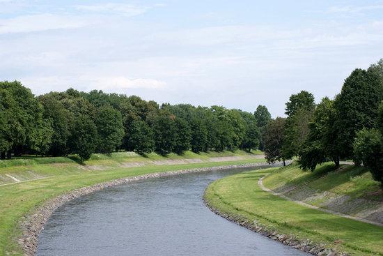 Ostrava, Česká republika: Ostravice River