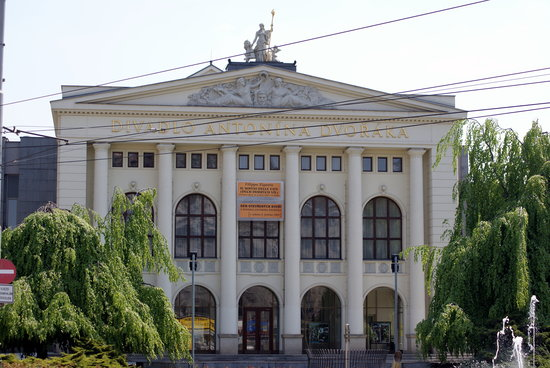 Ostrawa, Republika Czeska: Antonin Dvorak Theater