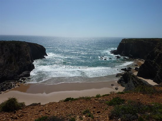 Zambujeira do Mar, Portugal: The almost private beach